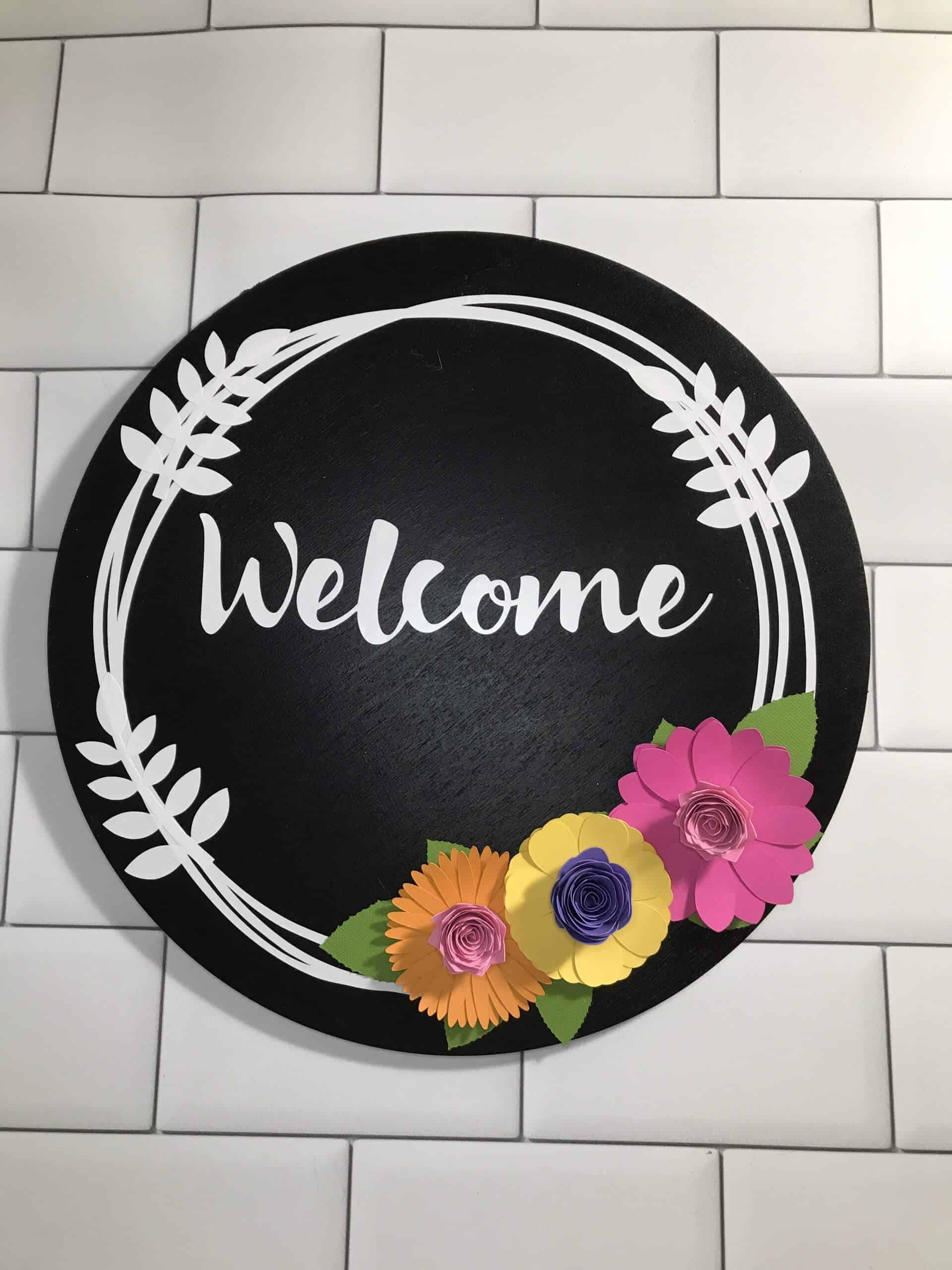 DIY Welcome Sign – Learn How