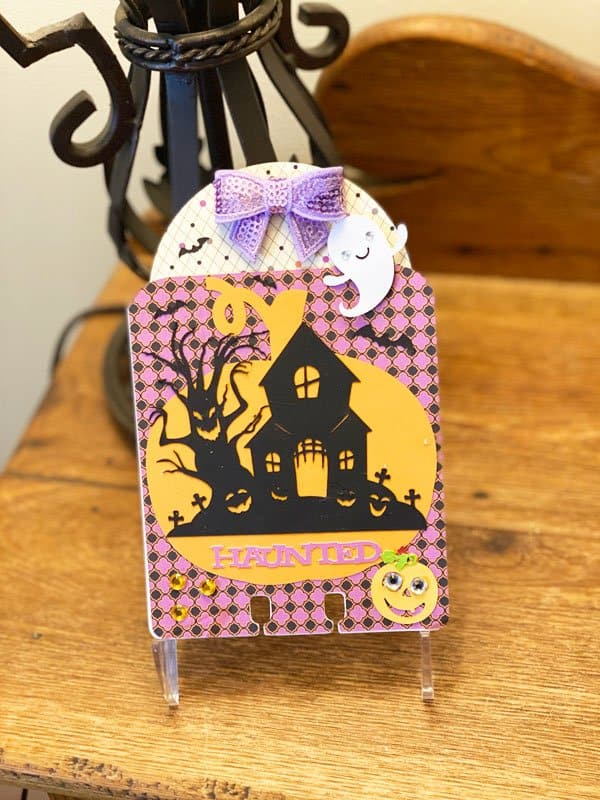Read more about the article DIY Halloween MemoryDex Card With The Cricut