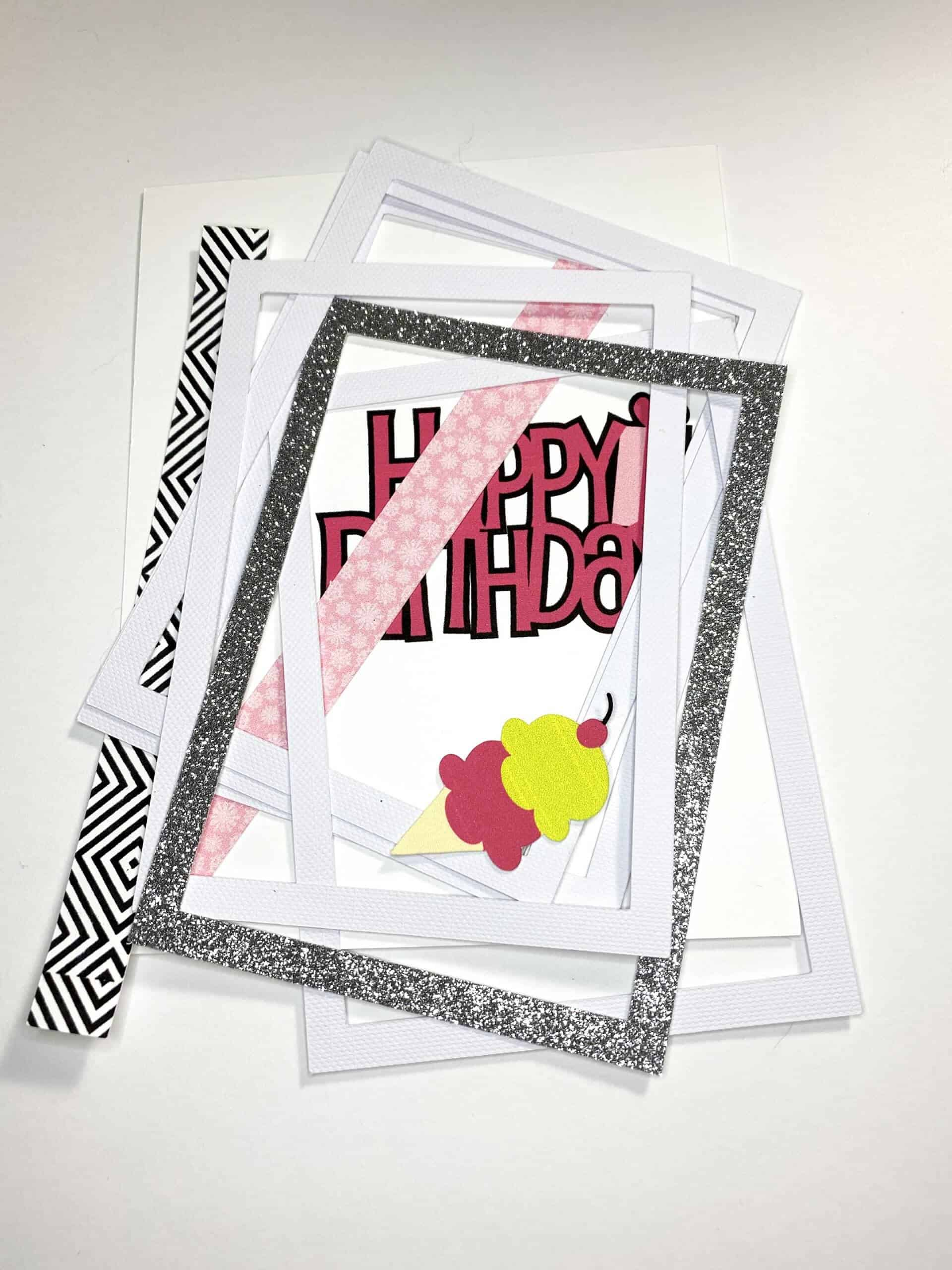 Make This Birthday Shaker Card With Your Cricut