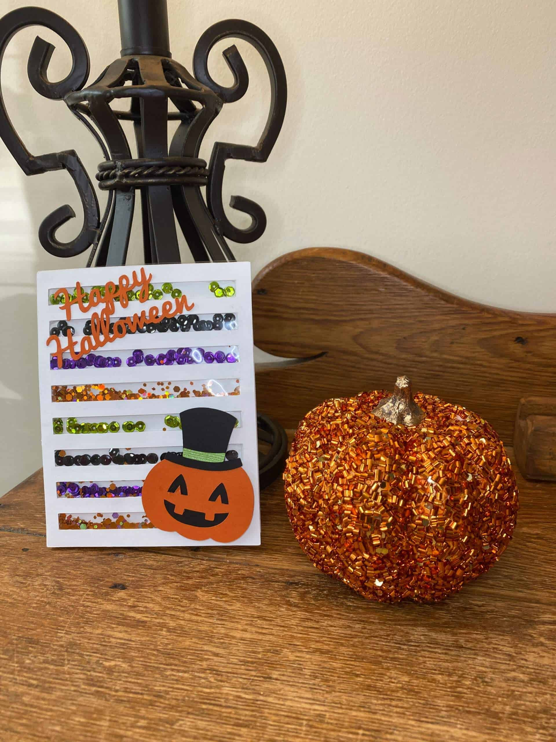 Read more about the article DIY Happy Halloween Shaker Card