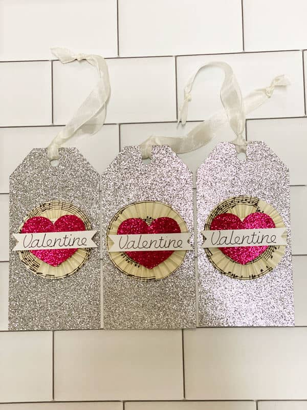 DIY Valentine Tags Made With The Cricut